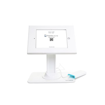Desktop stand (tall, white) for hire